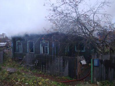 ВГрязовце при пожаре погибла 59-летняя женщина