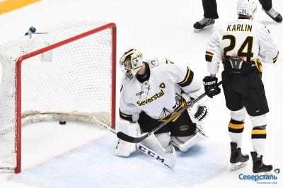 «Барыс» победил череповецкую «Северсталь» вконтинентальной хоккейной лиге