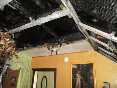 Личный дом сгорел наулице Матуринской вЧереповце
