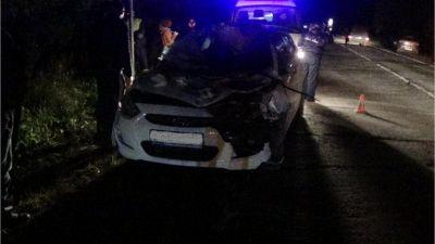 ВВологодской области пострадала шофёр столкнувшегося слосенком Хендая
