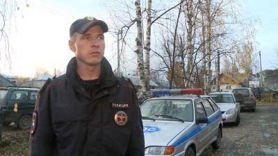 ВВологодской области полицейский приостановил находу выехавший навстречку ВАЗ
