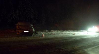 Под Вологдой фургон выехал навстречную полосу иврезался вВАЗ 2109