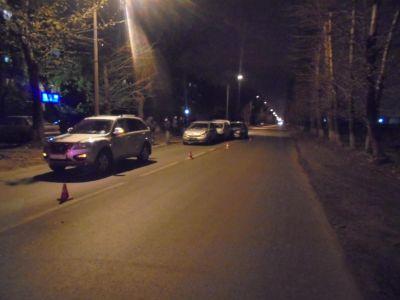 ДТП вЧереповце: Встолкновении четырех авто пострадал человек