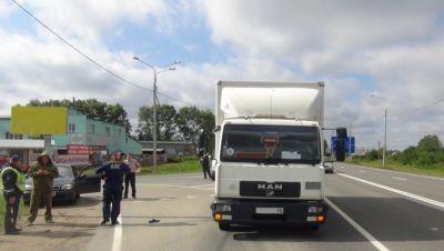 ВВологодском районе фургон сбил насмерть пешехода
