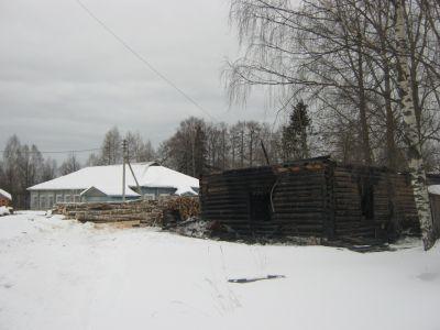 ВВологодской области дотла сгорела школьная котельная